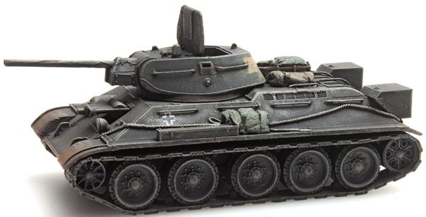 Artitec 1870009 - T34 - 76mm Gun Soviet Army + Beute German Wehrmacht (WWII)