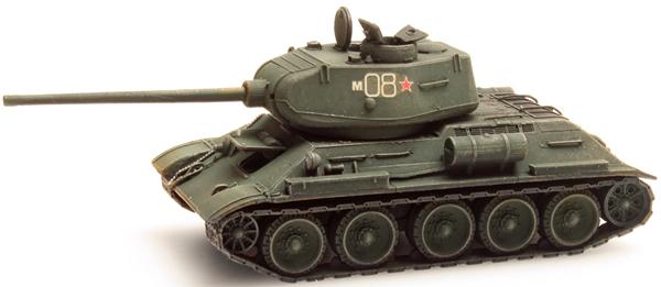 Artitec 1870010 - T34 - 85mm Gun Soviet Army Green-Winter