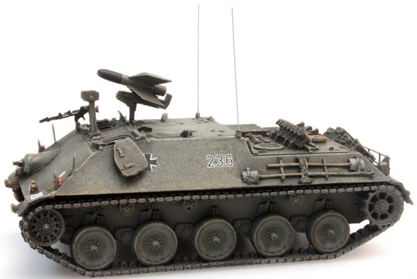 Artitec 1870011 - BRD Missile Tank 2 (SS11) German Army