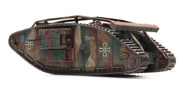 Artitec 1870116 - British WW I Mark IV male ( captured )