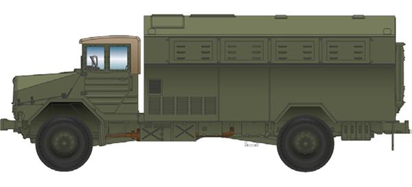 Artitec 1870173 - German Truck MAN 630 L2 A Feldküchen