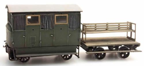 Artitec 20.180.01 - Draisine with trailer
