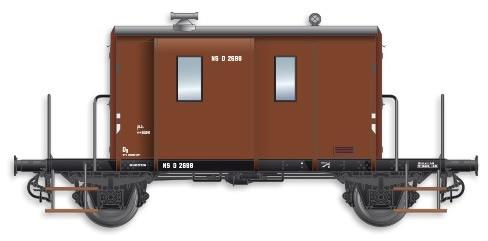 Artitec 20.214.05 - Dutch Caboose DG D 2698