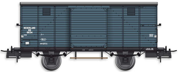 Artitec 20.216.02 - Dutch Box Car CHD 9634