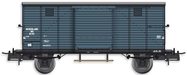 Artitec 20.218.01 - Dutch Box Car CHD 8141