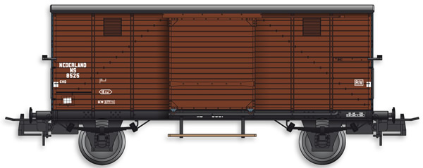 Artitec 20.218.10 - Dutch Box Car CHD 8525