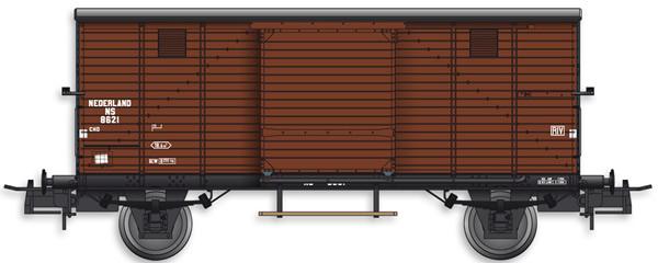 Artitec 20.218.11 - Dutch Box Car CHD 8621