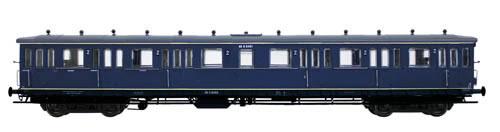 Artitec 20.255.02 - Dutch 4-axle Compartment Coach C12c B 6419