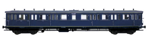 Artitec 20.255.03 - Dutch 4-axle Compartment Coach C12c B 6424