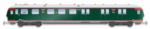 Artitec 20.277.01 - Dutch Mailvan PEC P 8506, green, silver roof, IIb