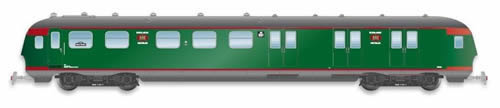 Artitec 20.277.02 - Dutch Mailvan PEC 901, grassgreen, grey roof, IIIa-b