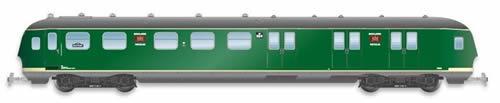 Artitec 20.277.03 - Dutch Mailvan PEC 904, grassgreen, grey roof, III c