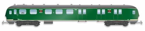 Artitec 20.277.04 - Dutch Mailvan PEC 1906, grassgreen, grey roof, IVa