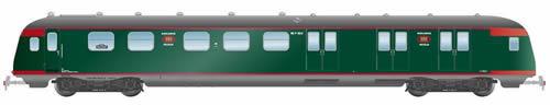Artitec 20.278.01 - Dutch Mailvan PEC P 8521, green, silver roof, IIb