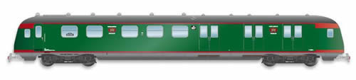 Artitec 20.278.02 - Dutch Mailvan PEC 907, grassgreen, grey roof, III a-b
