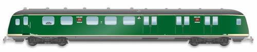 Artitec 20.278.03 - Dutch Mailvan PEC P 923, grassgreen, grey roof, III c