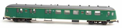 Artitec 20.278.04 - Dutch Mailvan PEC 1928, grassgreen, grey roof, IVa
