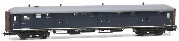Artitec 20.293.02 - Dutch Baggage Van 6 D. D 7624