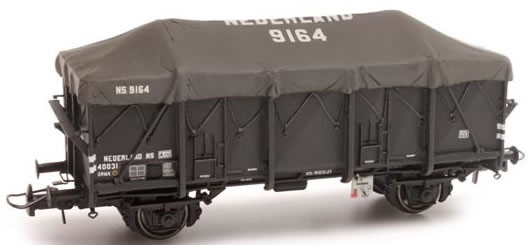 Artitec 20.301.03 - Dutch 2-axle Gondola with Tarp