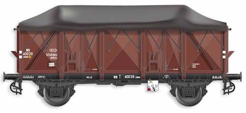 Artitec 20.302.02 - Dutch Open Wagon GTU GRMW 40039, brown, IIIb
