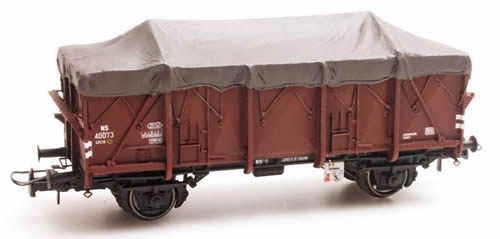 Artitec 20.302.03 - Dutch Open Wagon GTU GRUW 40073, brown, IIIb