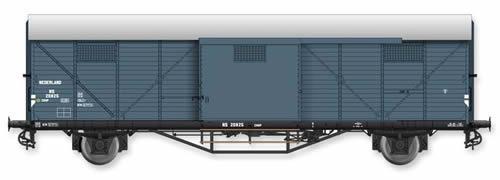 Artitec 20.310.01 - Dutch Box Car Hongaar CHHP 20825, grey, IIIa