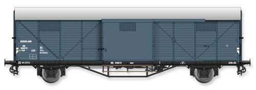 Artitec 20.310.02 - Dutch Box Car Hongaar CHHP 20873, grey, IIIa