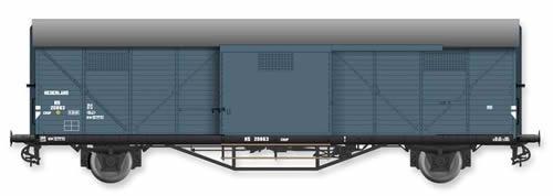 Artitec 20.310.04 - Dutch Box Car HongaarCHHP 20863, grey, IIIb