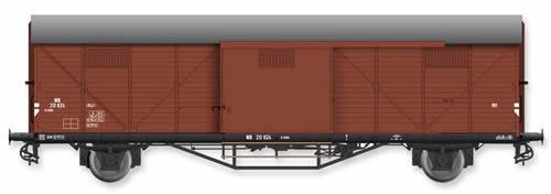 Artitec 20.310.05 - Dutch Box Car Hongaar S-CHH 20824 , brown, IIIc