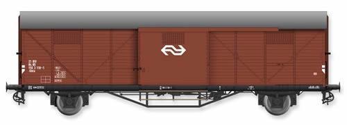 Artitec 20.310.07 - Dutch Box Car Hongaar Gbls NS 21 84 156 3 118-1, brown, IV