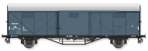 Artitec 20.311.01 - Dutch Box Car Hongaar CHKP NS 20 995, grey, IIIb