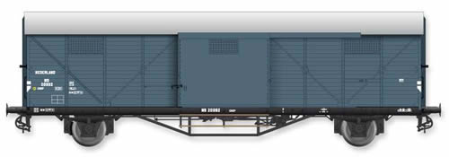 Artitec 20.311.02 - Dutch Box Car Hongaar CHKP NS 20 992, grey, IIIb