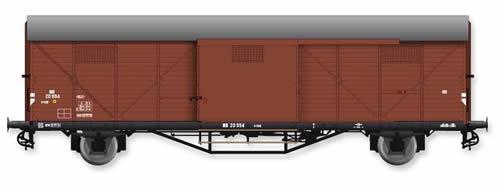 Artitec 20.311.04 - Dutch Box Car Hongaar S-CHK NS 20 994, brown, IIIc