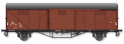 Artitec 20.311.05 - Dutch Box Car Hongaar S-CHK NS 20 997, brown, IIIc