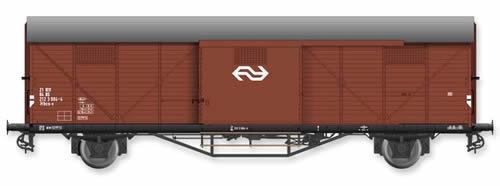 Artitec 20.311.07 - Dutch Box Car Hongaar Hbcs-v 21 84 212 3 004-4, brown, IV