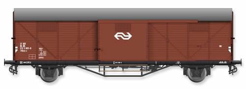 Artitec 20.311.08 - Dutch Box Car Hongaar Hbcs-v 21 84 212 3 001-0, brown, IV