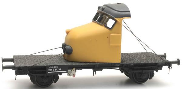 Artitec 20.316.04 - Dutch Flat Car NS 30-84 982 0 847-6 with front Hondekop