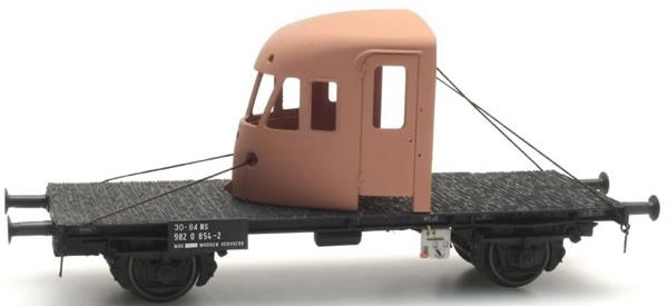 Artitec 20.316.05 - Dutch Flat Car NS 30 84 982 0 856-7 with front DE2
