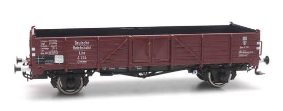 Artitec 20.331.02 - Open goods wagon Ommr 32 linz,DRB 4 224, Epoch ||