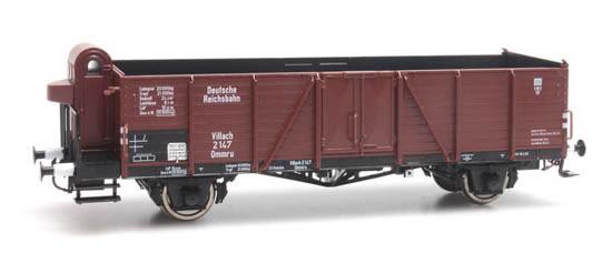 Artitec 20.336.02 - Open goods wagon Ommr u 33 Villach,DRB 2 147,Epoch II