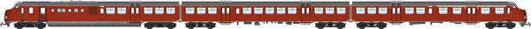 Artitec 20.350.01 - Dutch Diesel Railcar Plan U 115 of the NS