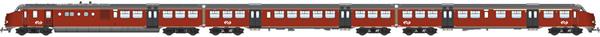 Artitec 20.353.01 - Dutch Diesel Railcar Plan U 139 of the NS