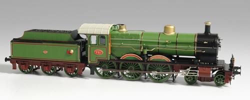 Artitec 22.219.01 - Dutch Steam Locomotive SS 731, digital w. Sound DC