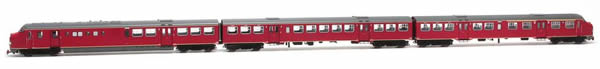 Artitec 22.350.01 - Dutch Diesel Railcar Plan U 115 of the NS