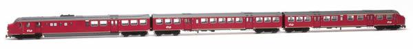 Artitec 22.351.01 - Dutch Diesel Railcar Plan U 134 of the NS