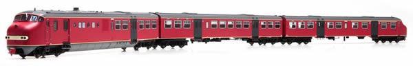 Artitec 22.356.01 - Dutch Diesel Railcar Plan U 114 of the NS