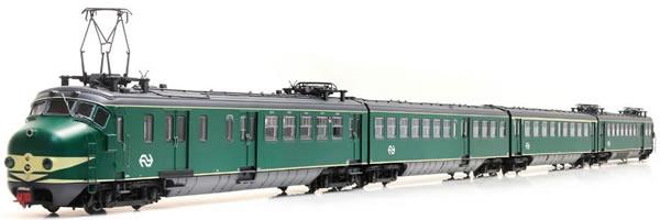 Artitec 22.401.01 - Dutch Electric Locomotive Hondekop 4 nr 764, NS-logo, A-sein, ATB (DCC Sound Decoder)