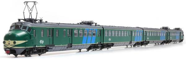 Artitec 22.402.01 - Dutch Electric Locomotive Hondekop 4 nr 762, NS-logo, reclamebanen, A-sein, ATB (DCC Sound Decoder)