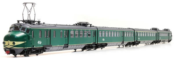 Artitec 23.401.01 - Dutch Electric Locomotive Hondekop 4 nr 764, NS-logo, A-sein, ATB (Sound)