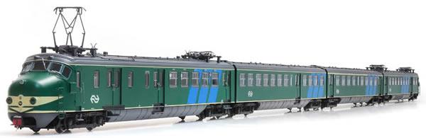 Artitec 23.402.01 - Dutch Electric Locomotive Hondekop 4 nr 762, NS-logo, reclamebanen, A-sein, ATB (Sound)